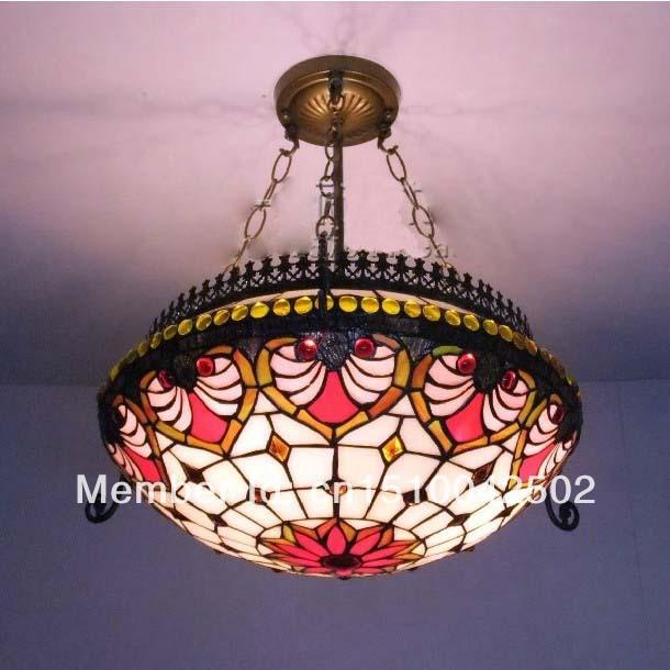 tiffany style lustre lampe europenne salon salle manger restaurant lustre tiffany 40 cm h 56 cm