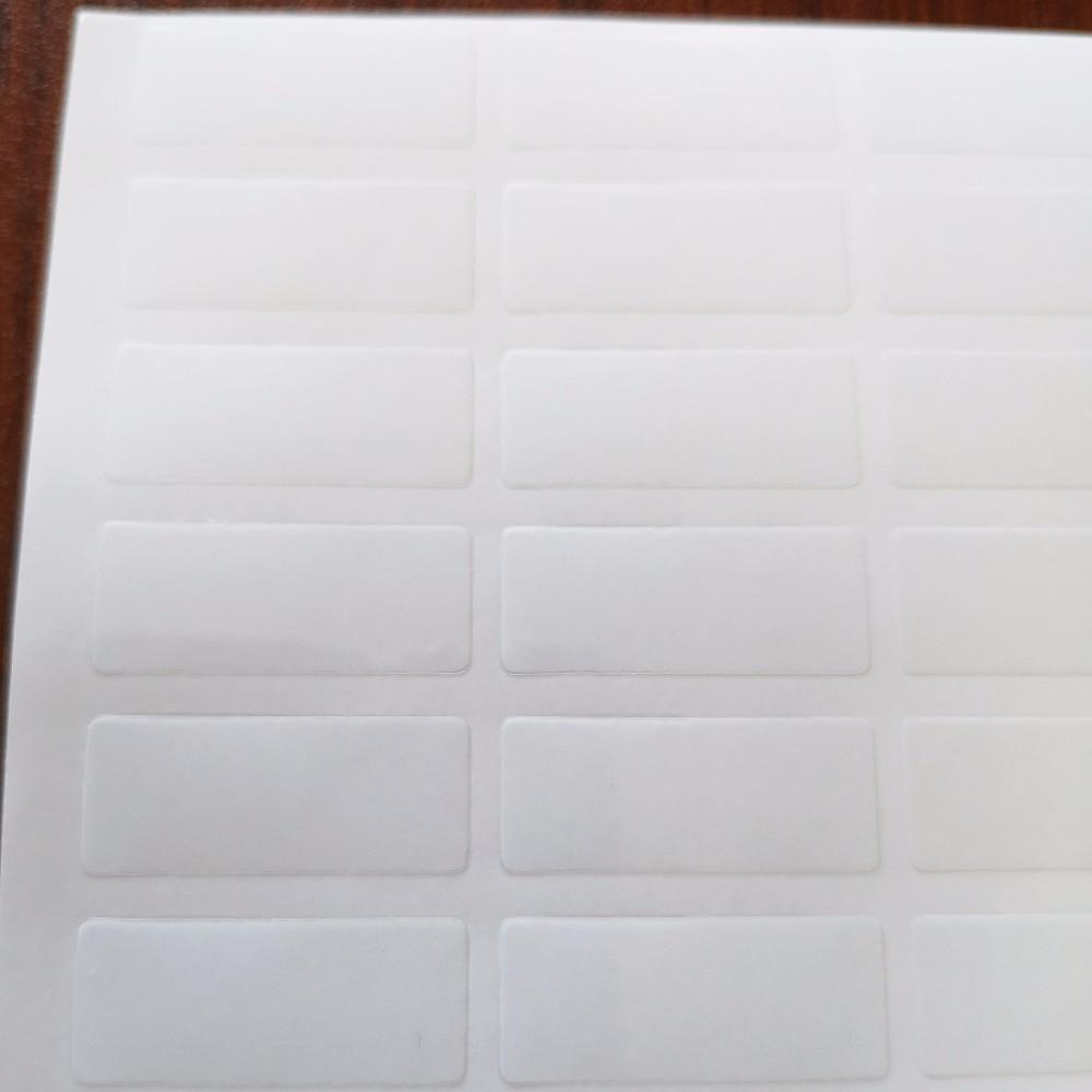 15000 قطعة 25x10 مللي متر شفافة PVC ملصق ، 0.05 مللي متر سمك ، البند لا. OF02-في ملصقات مكتبية من لوازم المكتب واللوازم المدرسية على  مجموعة 2