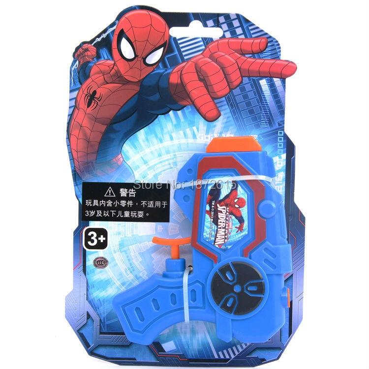 Amazing Spiderman water Toy gun cartoon spider man gift for children kids Pistol Shooter Swimming Pool Beach outdoor Fun toys
