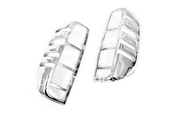 High Quality Chrome Tail Light Cover for Nissan Navara / Frontier D40 06-09 Free Shipping