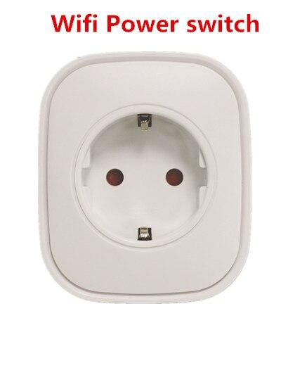 Heiman WiFi Metering Power Socket Compatible With Amazon Alexa EU Type 3000W Wifi Power Plug APP Control Power On/off