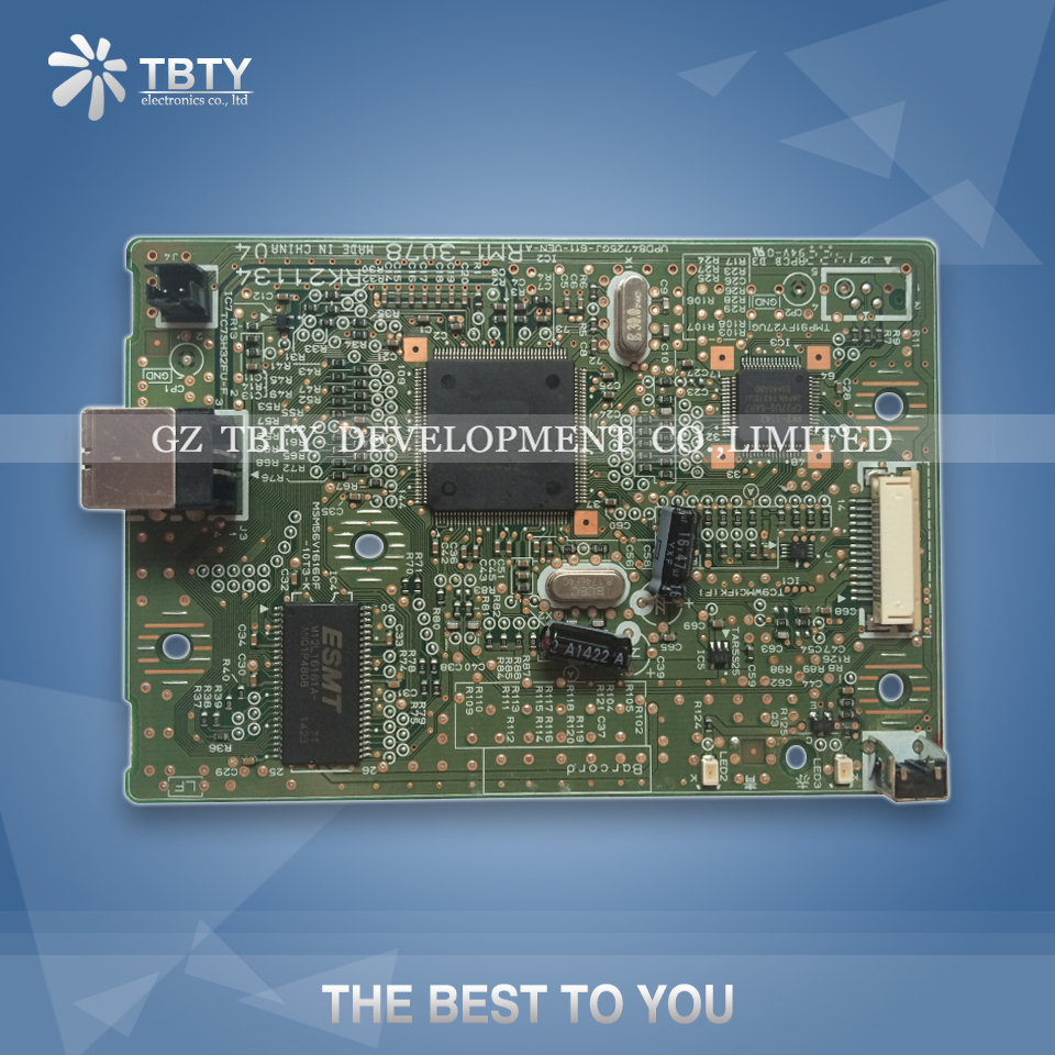 100% Test Main Board For Canon LBP 2900 LBP2900 Formatter Board Mainboard On Sale 100% test main board for canon lbp5100 lbp 5100 rm1 3515 formatter board mainboard on sale