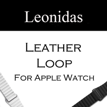 Leather Loop Watch Strap for Apple Watch Band Magnetic Buckle Closure Watch Band for Apple Watch Bands 38mm And 42mm цена и фото