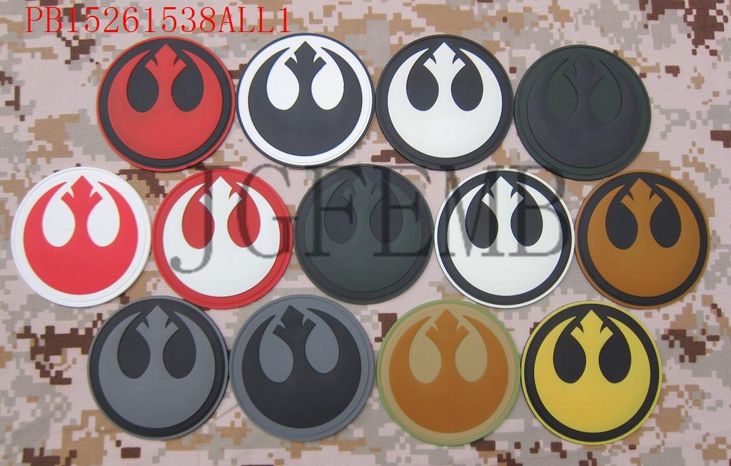 Rebel Alliance Tactical Military Morale 3D PVC-patch