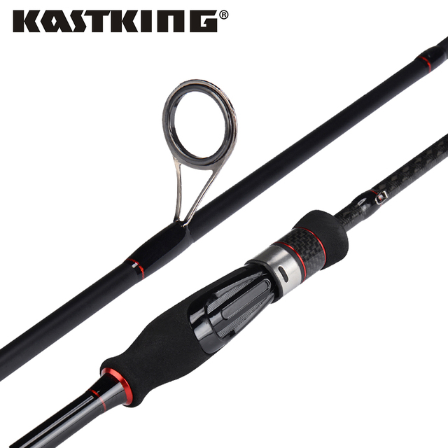 KastKing Geminus Ultralight Carbon Casting Spinning Fishing Rod with Ceramic Guide Rings UL/L/ML//M/MH Action Travel Fishing Rod