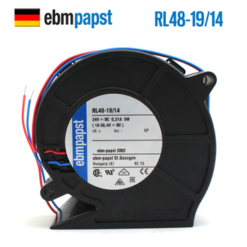 NEW ebmpapst PAPST RL48-19/14 24V 0.21A 5W turbine turbo Blower cooling fan