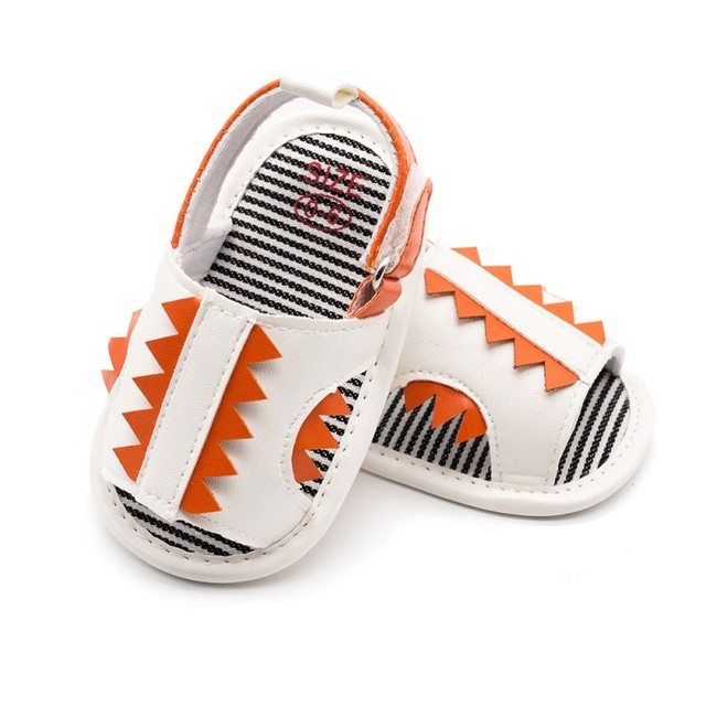 4fd7a60e8feee US $4.22 20% OFF|Cartoon Boy Sandals Newborn Baby Shoes Summer Dinosaur  Cartoon Cute Girl Sandals Beach Holiday Boys Girls Sandals-in Sandals &  Clogs ...