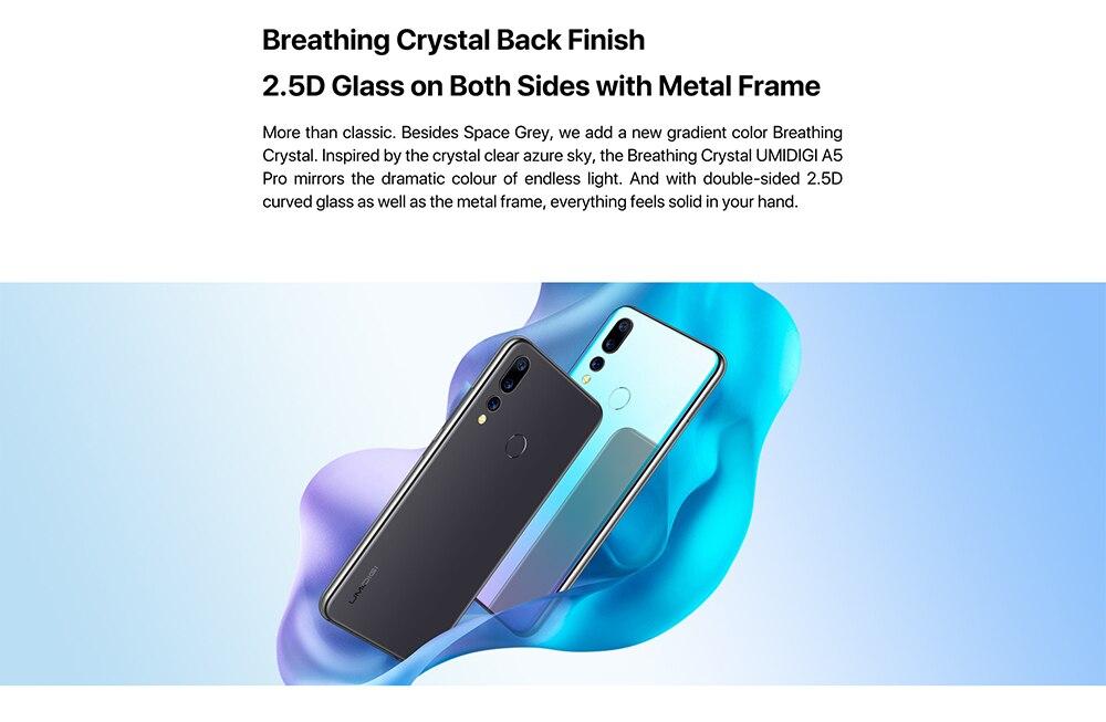 HTB1QymhXQL0gK0jSZFAq6AA9pXay UMIDIGI A5 PRO Android 9.0 Octa Core Mobile Phone 6.3' FHD+ 16MP Triple Camera 4150mAh 4GB RAM 32G ROM Smartphone gsm unlocked