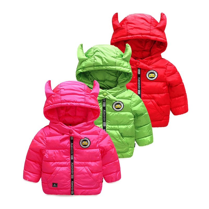 Vinnytido Winter Jacket For Girls Coat Tutleneck Kids Warm Hooded Outerwear Children Clothes