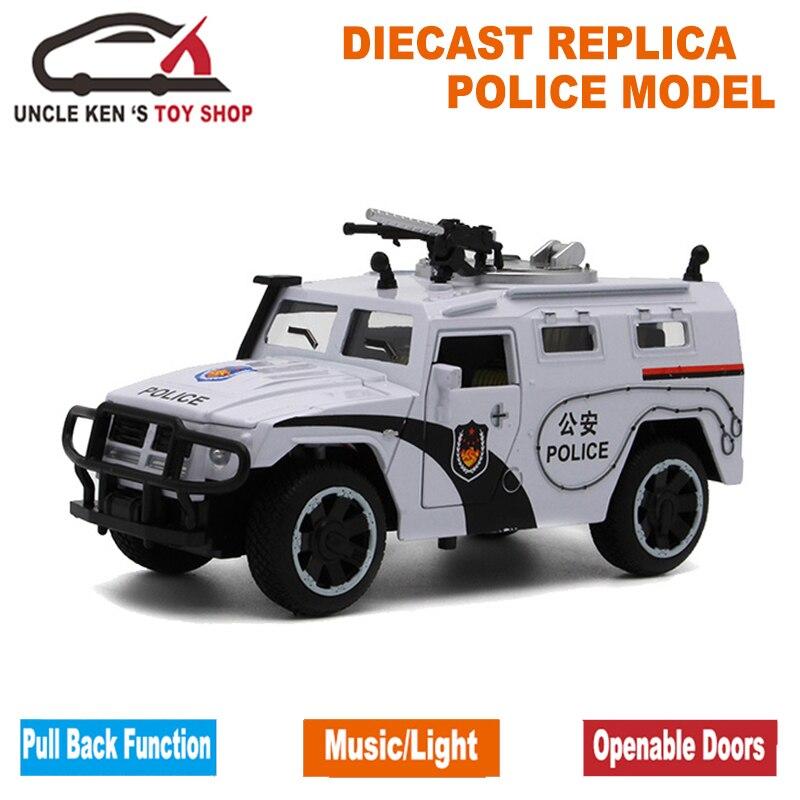 1/32 Scale Model Diecast GAZ Tiger, 15Cm metala replika automobila, - Dječja i igračka vozila - Foto 5