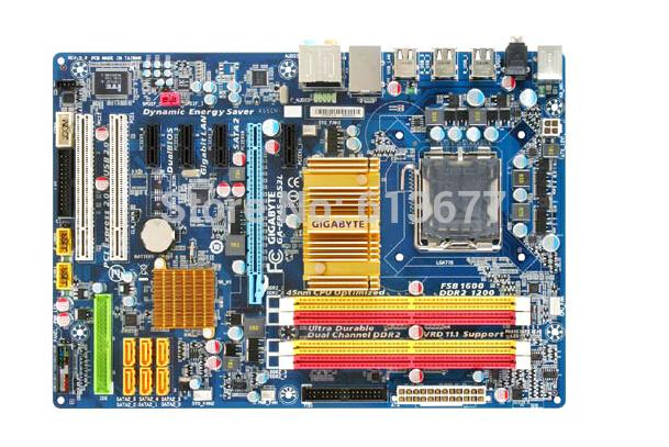 Motherboard original para Gigabyte GA-EP45-DS3L LGA 775 DDR2 P45 Placa Base de Escritorio Envío gratis