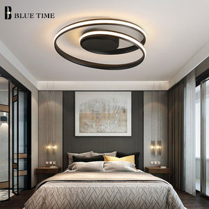 Image 3 - Hot Sale Modern LED Ceiling Lights For Living Room Bedroom Dining Room Luminaires White&Black Ceiling Lamps Fixtures AC110V 220V