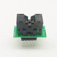 MSOP10 для DIP10 MSOP10-0.5 MCU Тесты IC гнездо программист разъем адаптера