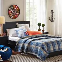 Blue Patchwork Cotton Quilt Air conditioning was Summer quilt