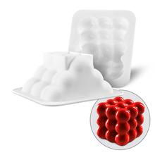 Silicone 3D Cake Mold Mousse Pan  Non-stick Baking Cakes Mold Geometric Shape Decorating  Bakeware Tools