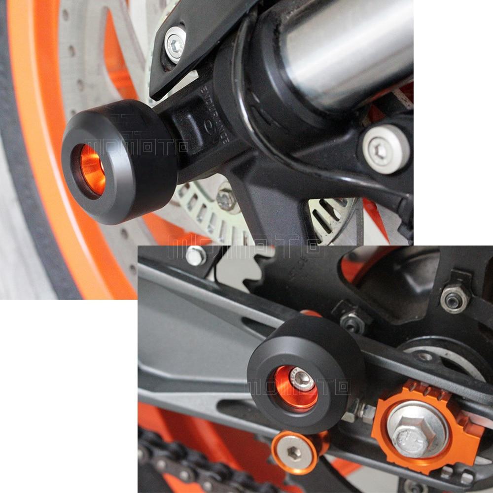 Motocicleta Rueda delantera y trasera Tenedor del bastidor Deslizante - Accesorios y repuestos para motocicletas - foto 2