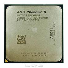 AMD Phenom II X6 1055T 1055 2.8G 125W שש ליבות מעבד מעבד HDT55TFBK6DGR שקע AM3