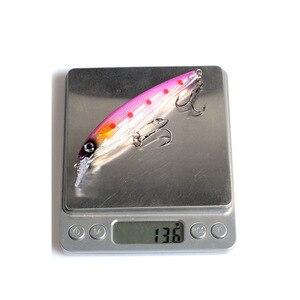 Image 4 - 5 قطع الصيد الطعم أسماك Wobblers البلاستيك الصلب الطعم Isca الاصطناعي Pesca Crankbait الصيد معالجة وهمية إغراء 110 مللي متر 13.6g