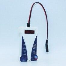 MOTOPOWER 12 V цифровой автомобильный тестер батареи Вольтметр система зарядки Анализатор ЖК-светодиодный дисплей
