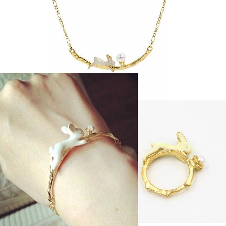 Кольцо с цепочкой и браслетом золото купить