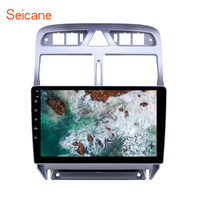 Seicane 2din car multimedia player Android 8.1 for Peugeot 307 2007 2008 2009 2010 2012 2013 Head unit Radio GPS Navigation
