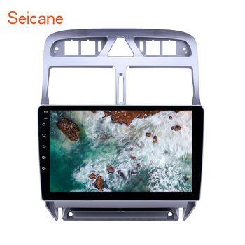 Seicane 2din car multimedia player Android 8.1 for Peugeot 307 2007 2008 2009 2010 2012 2013 Head unit Radio GPS Navigation image