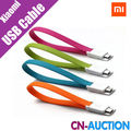 Original Xiaomi Micro USB Cable Noodles Style for Charging Data Transmission for Samsung Xiaomi Mi4 Mi3 Mi2 Redmi 4 Colors