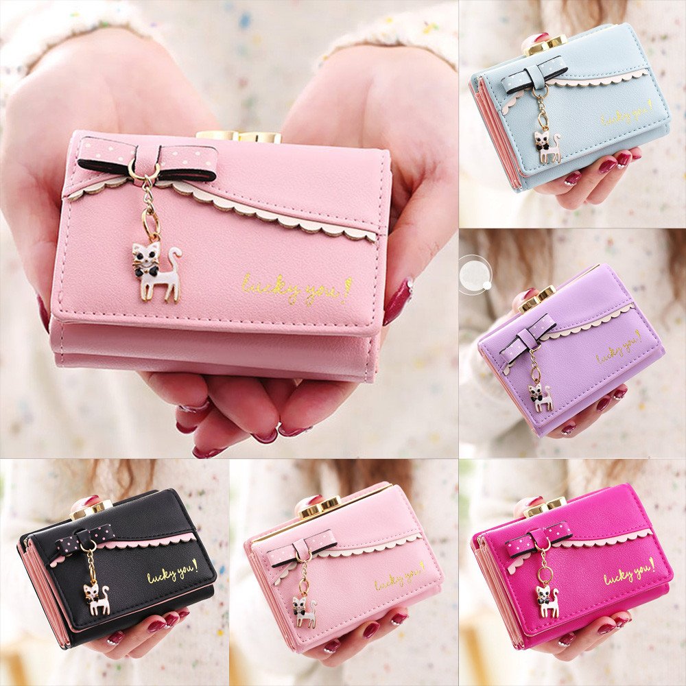 Fashion 2018 wallet female Women Lichee Pattern Wallet Coin purse credit Card money holder wallets carteira feminina hot sale owl pattern wallet women zipper coin purse long wallets credit card holder money cash bag ladies purses