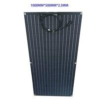 1PCS 80w ETFE Semi Flexible Solar Panel 18V China Günstige Solarzelle Modul 12V Auto Batterie ETFE schicht Beschichtung