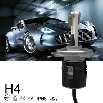 Xenplus Car light H4 LED H7 H11 H1 H3 HB4 9007 9005 9006 Mini Headlight 48W 7200LM SEOUL Y19 Automobiles Headlamp car-styling