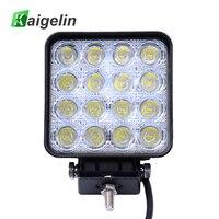 10 Pieces 48W 16 X 3W Car LED Light Bar Work Drive Lamp Spot Light For