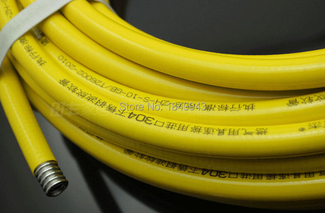 3 8 Flexible Stainless Steel Gas Pipe Natural Rubber Hose Lng