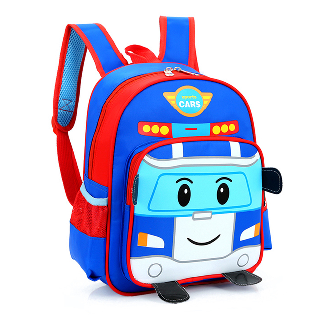 High Quality children orthopedic school bags cartoon cars boys girls schoolbag kids book bag backpack to kids christmas gifts