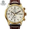 Ochstin hombres relojes de primeras marcas de lujo impermeable del cuarzo del deporte del cronógrafo reloj de los hombres de negocios reloj de pulsera de reloj masculino hodinky