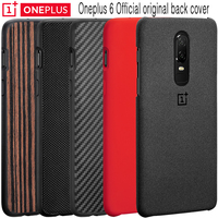 Oneplus 6 Case 100 Original Official Sandstone Silicon Nylon Karbon Ebony One Plus 6 Bumper Case