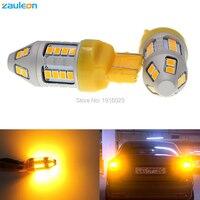 2pcs Turn Signal Light T20 7443 580 W21 5W 7440 WY21W 30SMD 2835 LED High Power