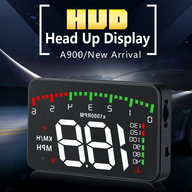 HUD Дисплей 12 V HUD Дисплей HUD приборная панель для автомобиля износ автомобиля премиум проекция Авто