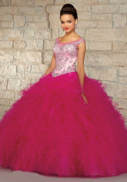 03d032bd52a New Debutante Dresses Vestidos Quinceanera 15 Anos Ball Gown Ruffle Beaded  Full Length Organza Sweet16 Dresses