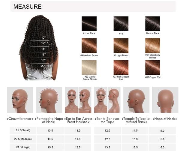 mulheres 150% densidade natural preto brasileiro remy perucas cabelo venvee