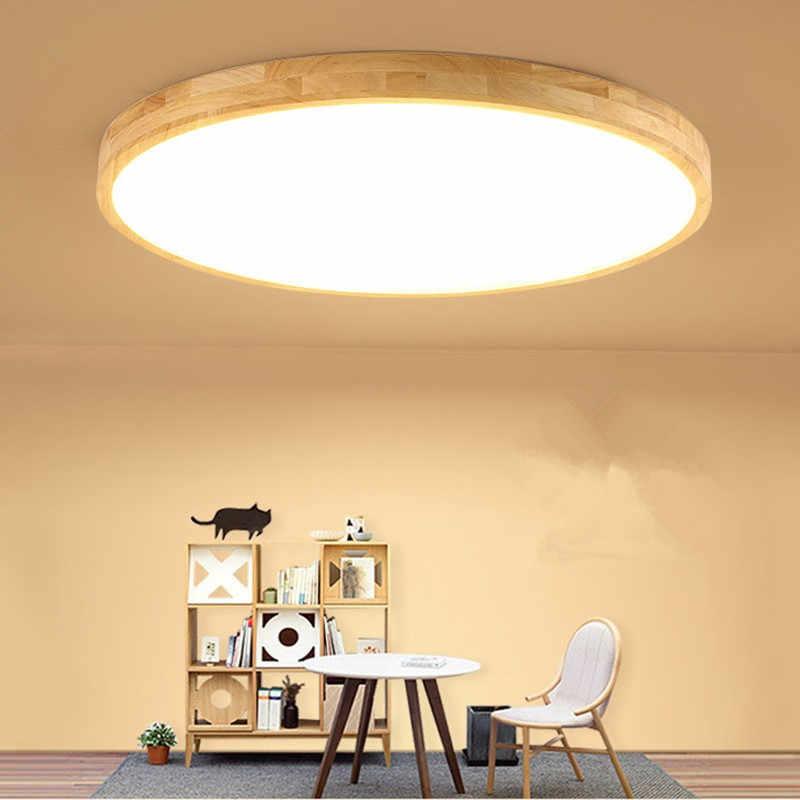 Японские потолочные светильники для гостиной, спальни, кухни, деревянный потолочный светильник, ультратонкий художественный декор, ресторан, деревянная люстра