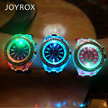 JOYROX Glowing LED Luminous Lights Electronic Watch 2018 Hot Women Quartz Wirstwatch Casual Girls Student Clock relogio feminine