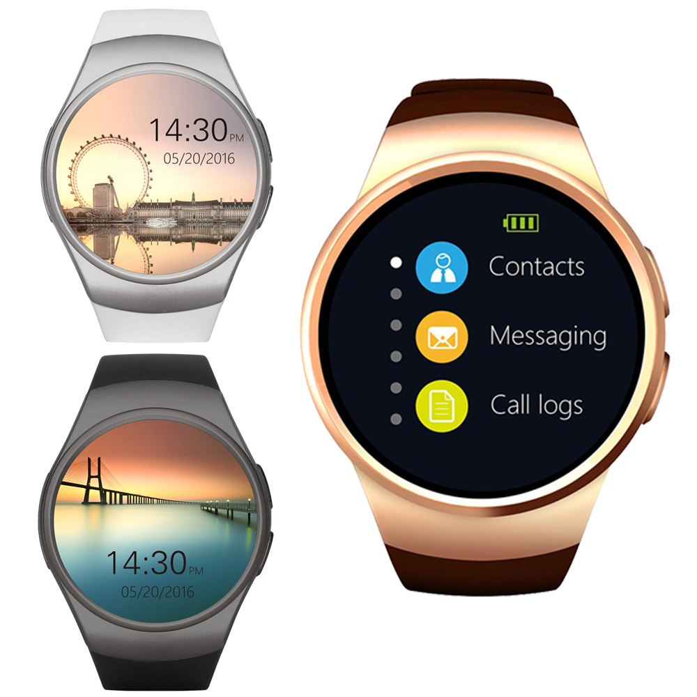[Genuine] KW19 Bluetooth Smart Watch Full Screen Support SIM TF Card Smartwatch Phone Heart Rate for Apple Gear S2 Huawei Xiaomi 2016 smart bluetooth watch with heart rate monitor smartwatch g sensor compass for apple phone xiaomi huawei montres intelligent