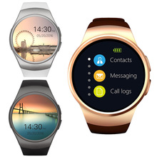[Genuine] KW19 Bluetooth Smart Watch Full Screen Support SIM TF Card Smartwatch Phone Heart Rate for Apple Gear S2 Huawei Xiaomi