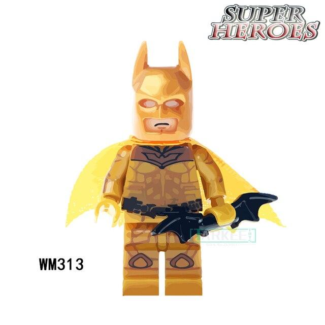 Us 08 Blocchi Di Costruzione Oro Cavaliere Oscuro Batman Super Heroes Star Wars Modello Set Mattoni Azione Bambole Per Bambini Fai Da Te Giocattoli