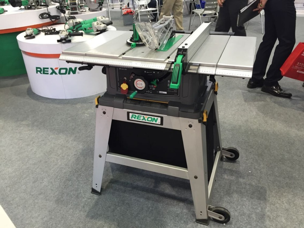 Rexon table saw for 10 inch high table