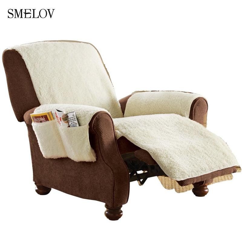 Swell Us 14 99 6 Off 1 Seat Warm Comfort Sobakawa Snuggle Up Recliner Cover Office Chair Sofa Couch Seat Cover Plush Cashmere Sofa Throw Blanket Mat In Creativecarmelina Interior Chair Design Creativecarmelinacom