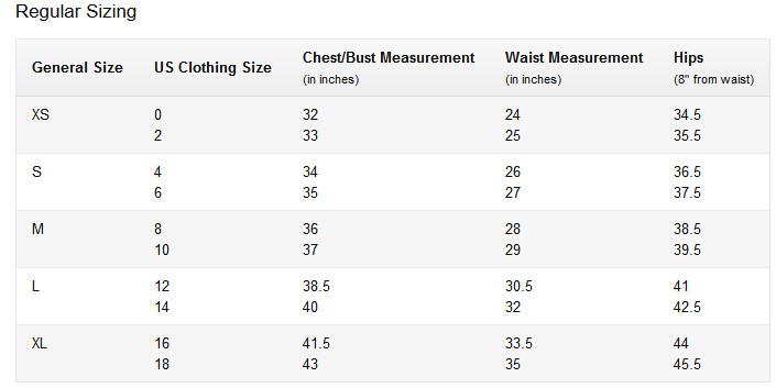 amazon regular size