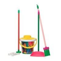 Набор для уборки с 4 заказами детской посуды