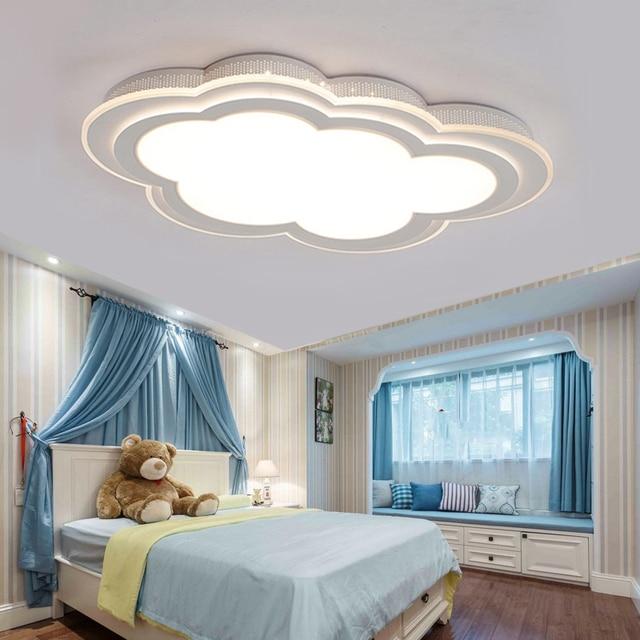 Wolken Kinderzimmer Madchen Jungen Led Deckenleuchten Kreative