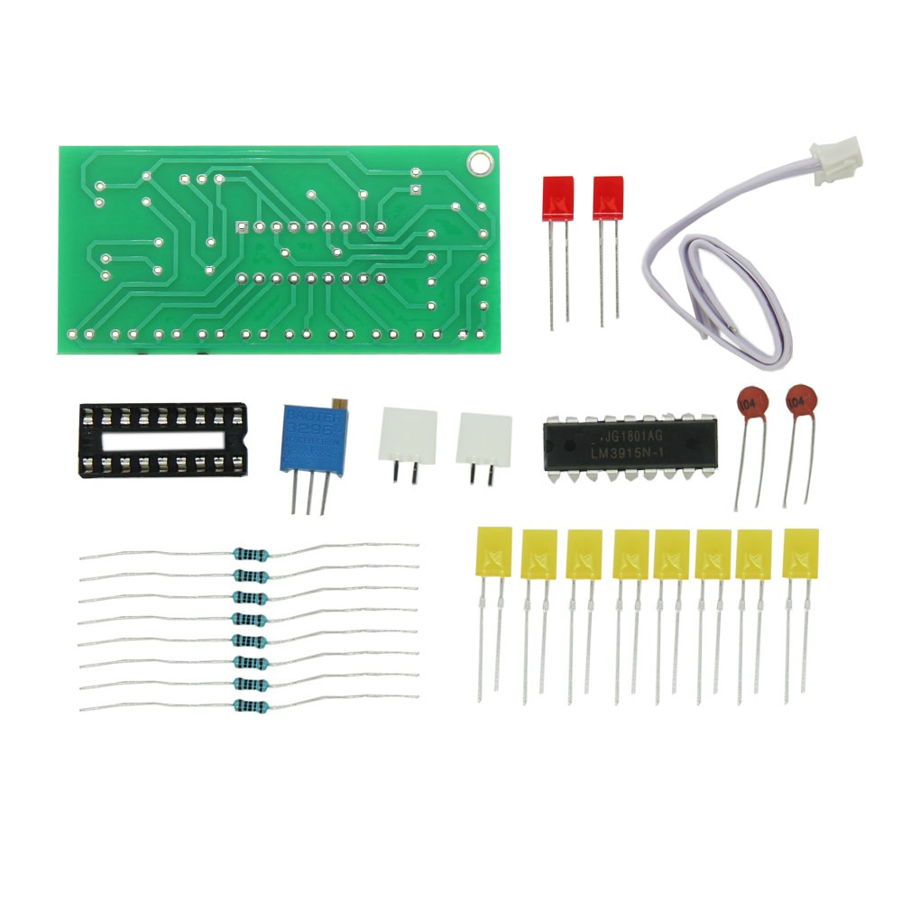 Buy Level Indicator Lm3915 And Get Free Shipping On Vu Meter Circuit